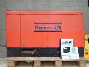 デンヨー BLW-280SS2 発電溶接機 ディーゼルエンジン