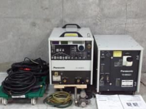 パナソニック 2005年製 TIG溶接機 YC-300BP2 冷却水装置 YX-09KGC1